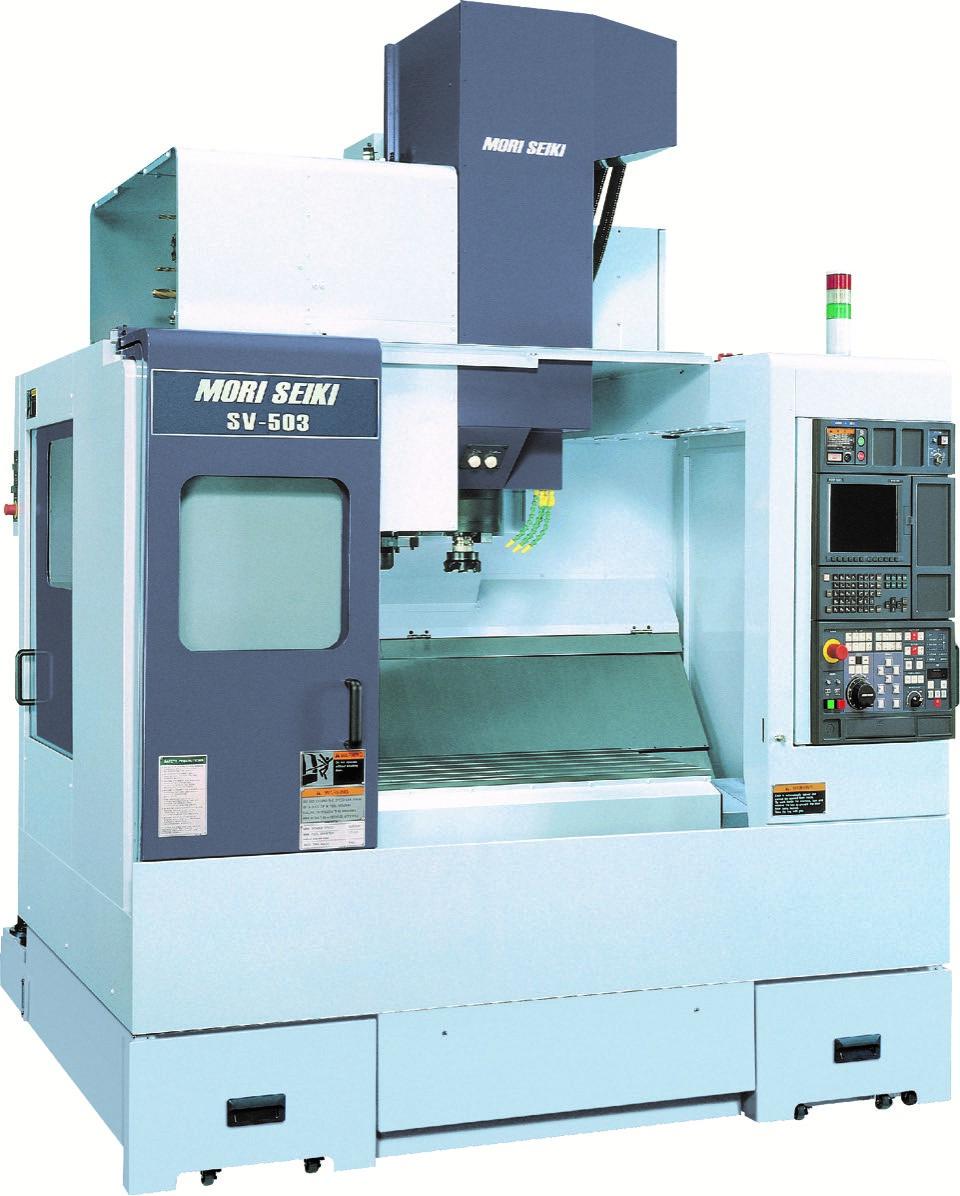 Machine usinage Mori Seiki SV 503