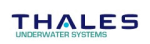 Logo thales underwater